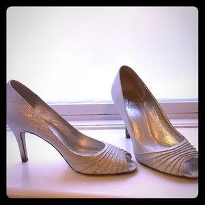Silver Wedding (formal) Heels